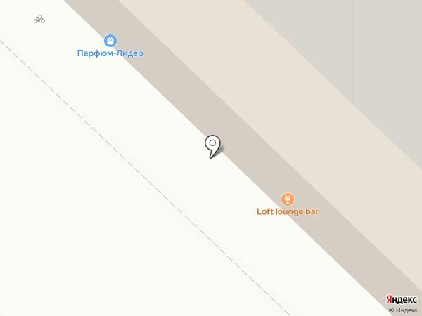 LOFT lounge bar на карте Тюмени