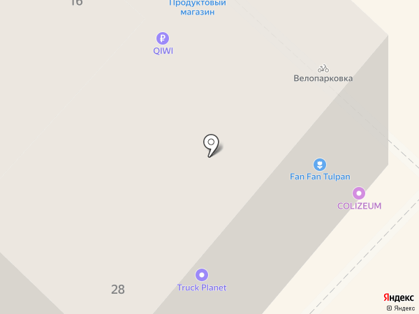 Rich на карте Тюмени