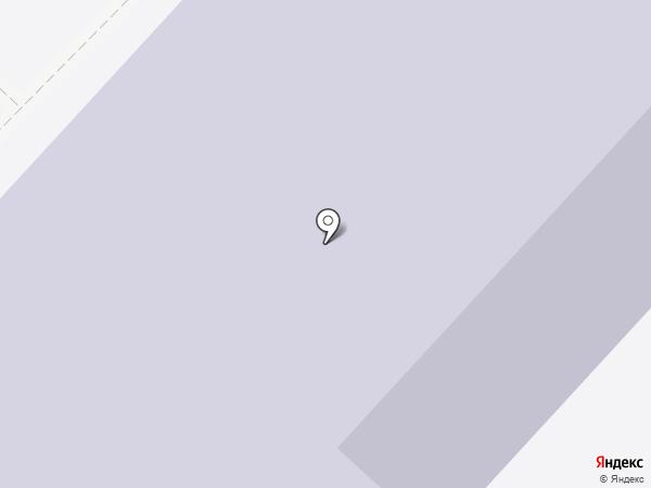 Средняя общеобразовательная школа №25 на карте Тюмени