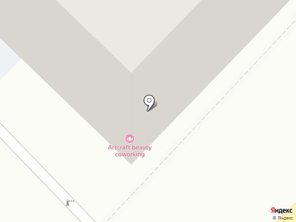 Амодей на карте Тюмени