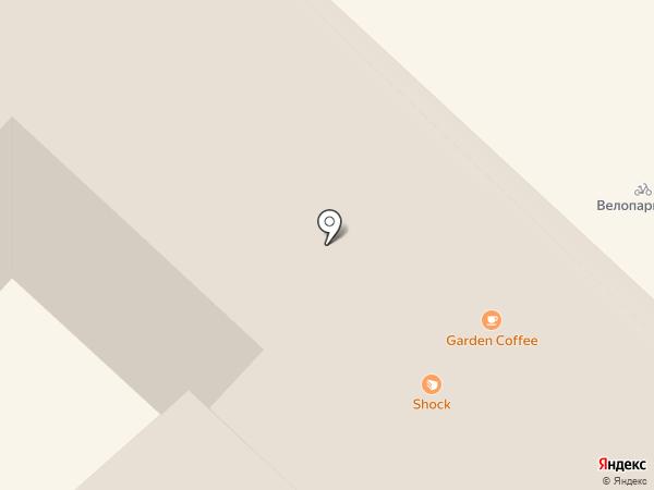 Garden на карте Тюмени