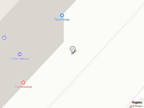 Адвокат Шарапов Р.Д. на карте Тюмени