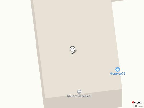 Грузовой мир на карте Тюмени
