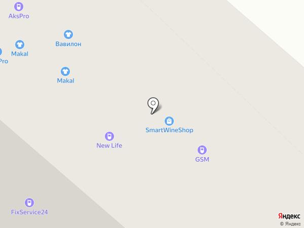 LIBERTY PROJECT на карте Тюмени