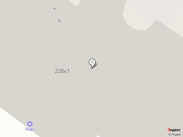 Лифт на карте Тюмени