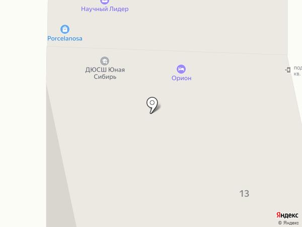 Ё-Бург на карте Тюмени