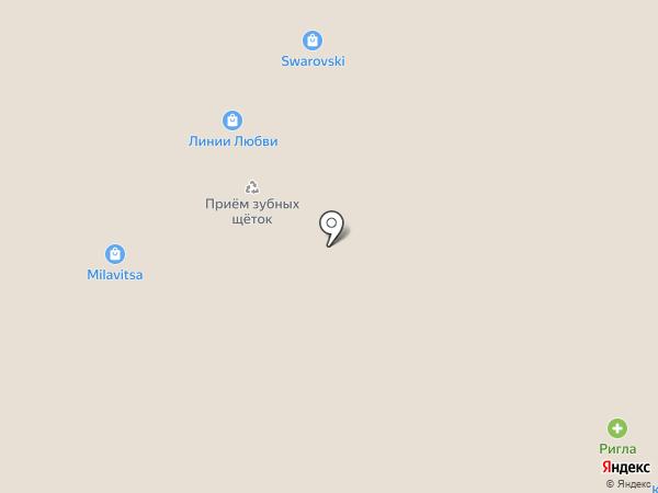 Линии любви на карте Тюмени