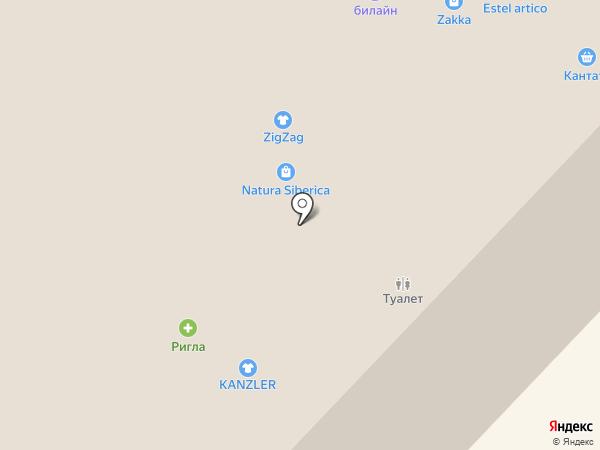 Petit Jardin на карте Тюмени
