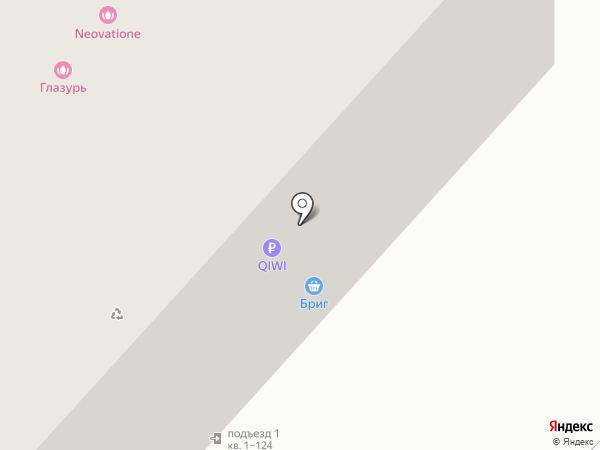 Ковчег на карте Тюмени