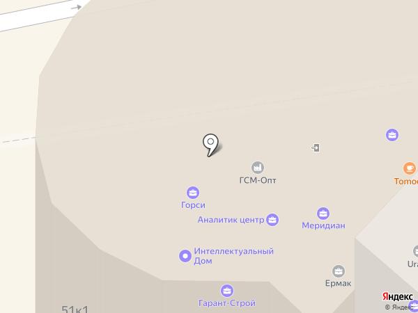 ГСМ-ОПТ на карте Тюмени
