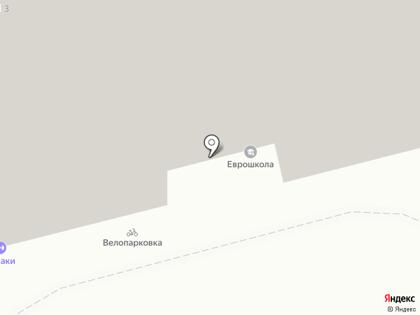 Гамаки на карте Тюмени