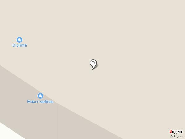 Калинка на карте Тюмени
