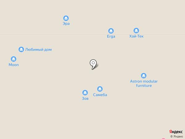 Панда на карте Тюмени
