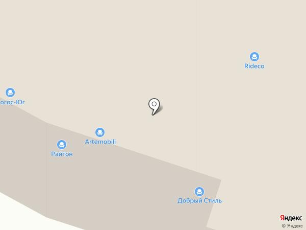 Логос-Юг на карте Тюмени