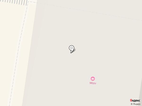 MIZU на карте Тюмени