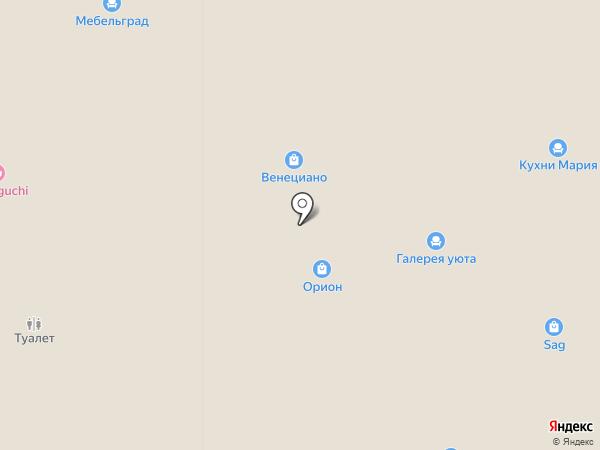 YAMAGUCHI на карте Тюмени