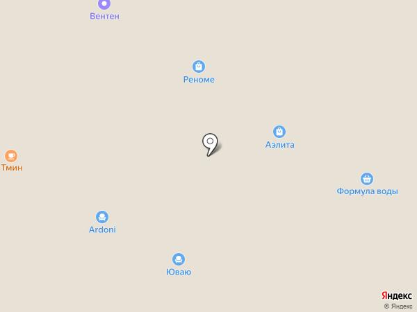 UNICO на карте Тюмени