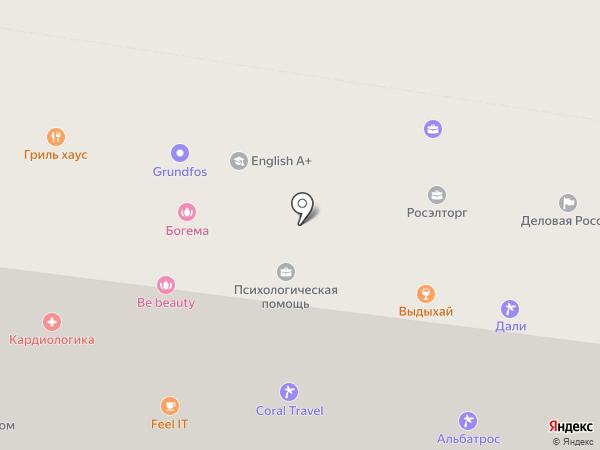 Нави на карте Тюмени