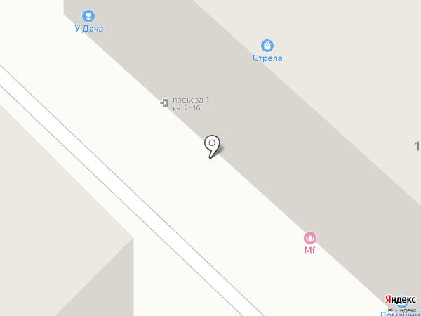 У`Дача на карте Тюмени