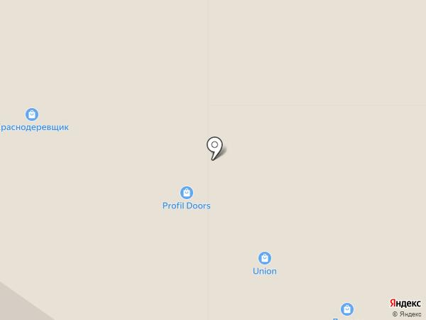 Краснодеревщик & Ре-Монти на карте Тюмени