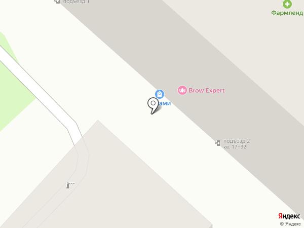 Белла Маньера на карте Тюмени