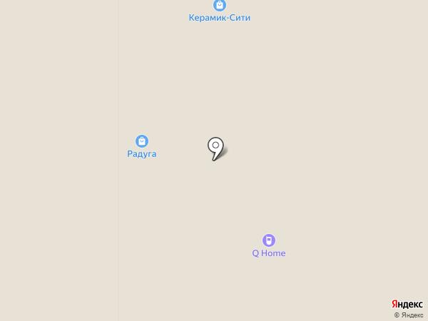 Бион на карте Тюмени