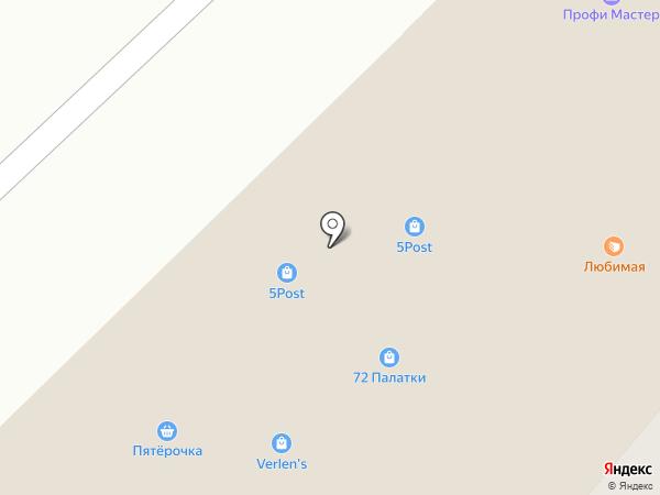 Marafett на карте Тюмени
