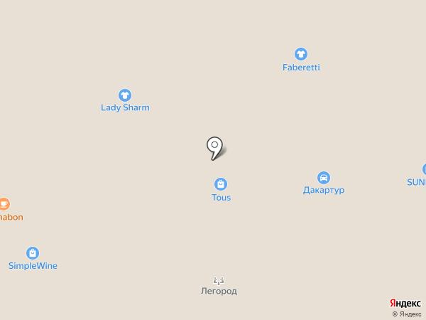 SUNLIGHT на карте Тюмени