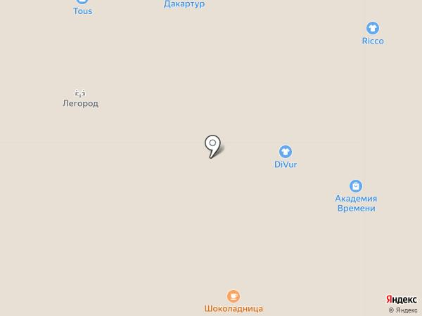 Divur на карте Тюмени