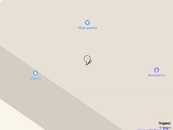 Секундочку на карте Тюмени