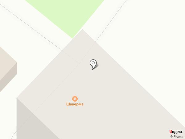 Киоск по продаже шаурмы на карте Тюмени