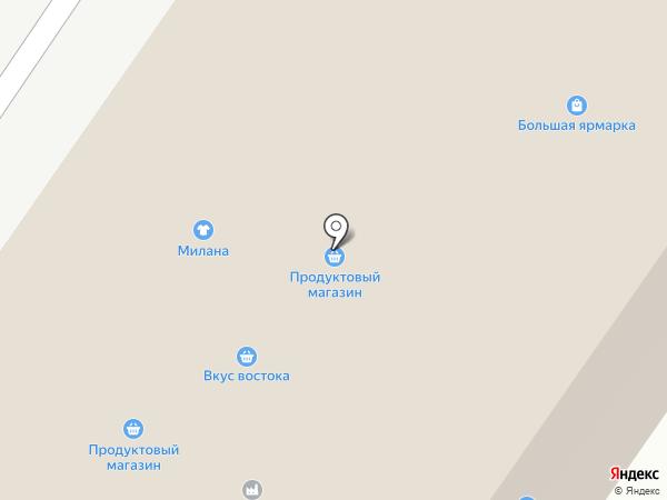 Август на карте Тюмени