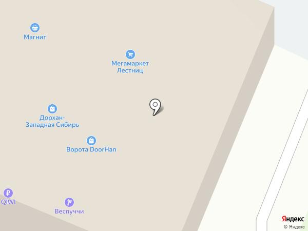 Западная сибирская торговая оптовая компания на карте Патрушевой