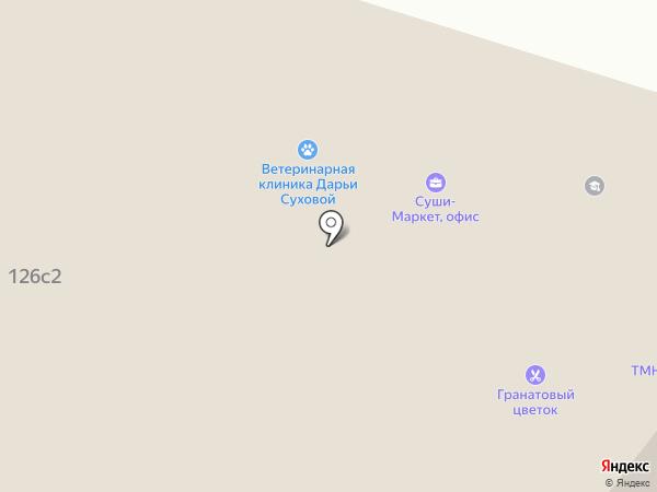 Суши-Маркет на карте Тюмени