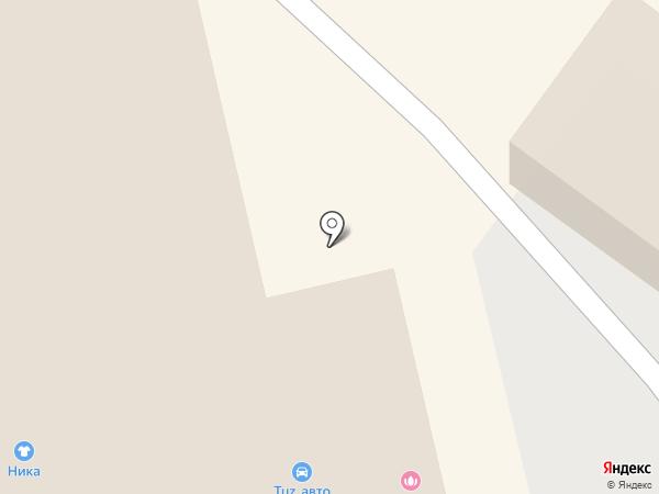 ТехСтройСервис на карте Тюмени