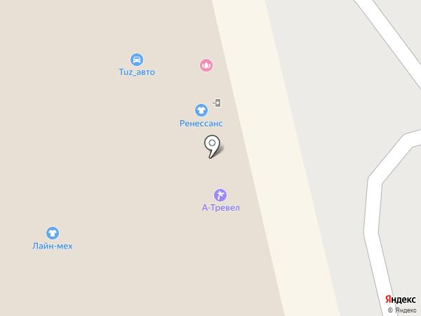 Магнит-Косметик на карте Тюмени