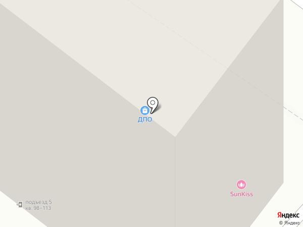 Крендель на карте Тюмени