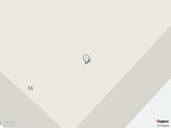 Миоритм на карте Тюмени