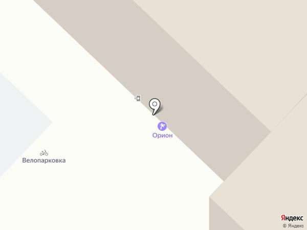 Кабинет массажа на карте Тюмени