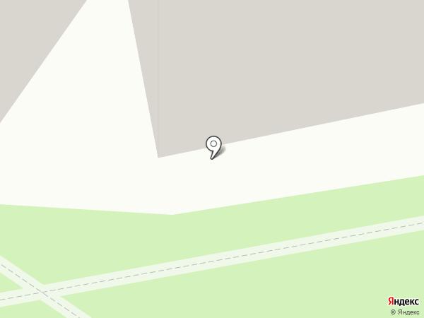 Шпулька на карте Тюмени