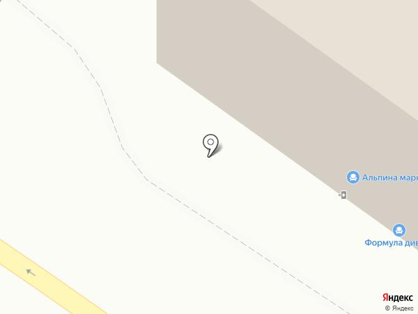 Березка на карте Тюмени