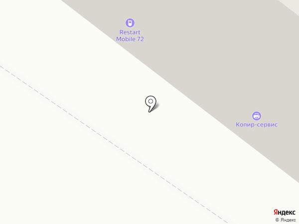 Ломбардыч на карте Тюмени