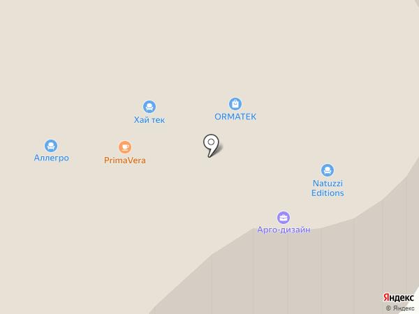 Аллегро Классика на карте Тюмени