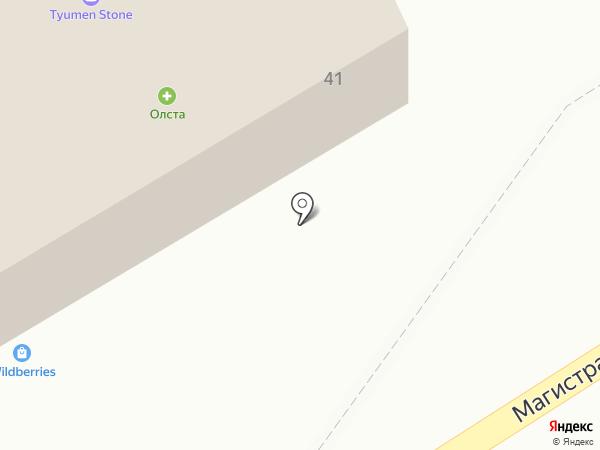 Олста на карте Патрушевой