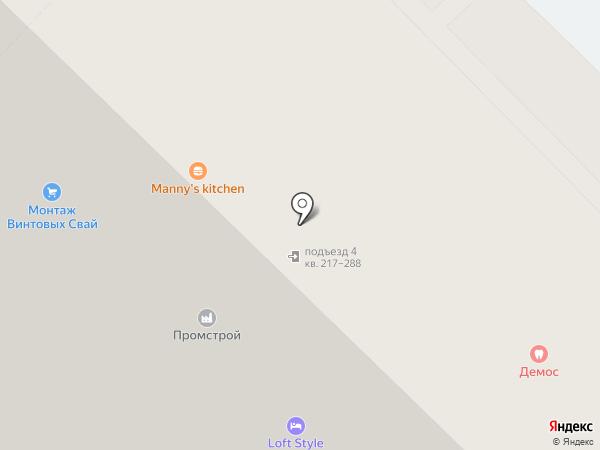 Аарон на карте Тюмени