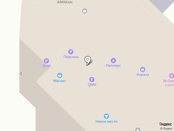 M2 на карте Тюмени