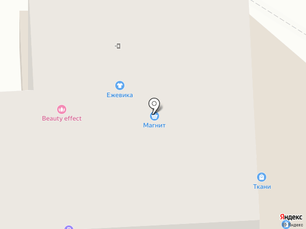 Натали на карте Тюмени