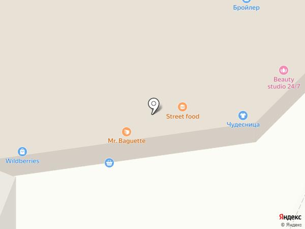 Первый меховой на карте Тюмени