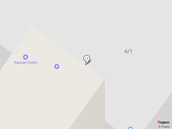 44 на карте Тюмени