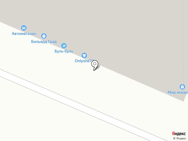 Стрекоза на карте Тюмени